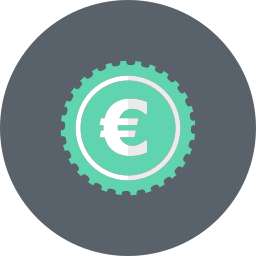 cash, coin, currency, euro, money icon