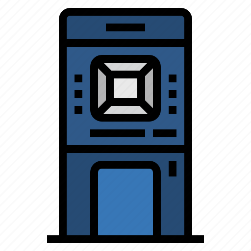 atm, automatic teller machine, banking, financial, money, payment icon
