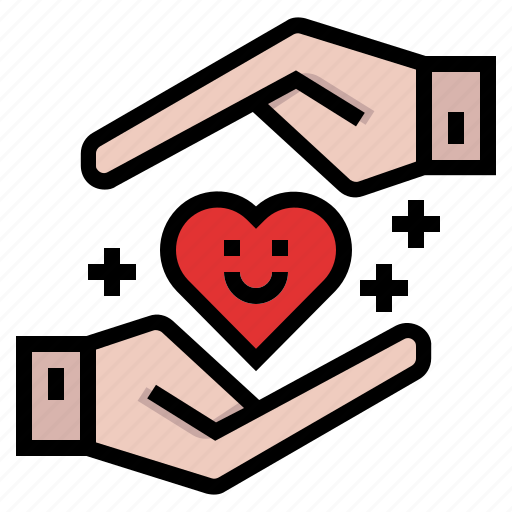 charity, fund, insurance, protection, secure icon