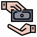 banking, currency, financial, money, pay, payment icon