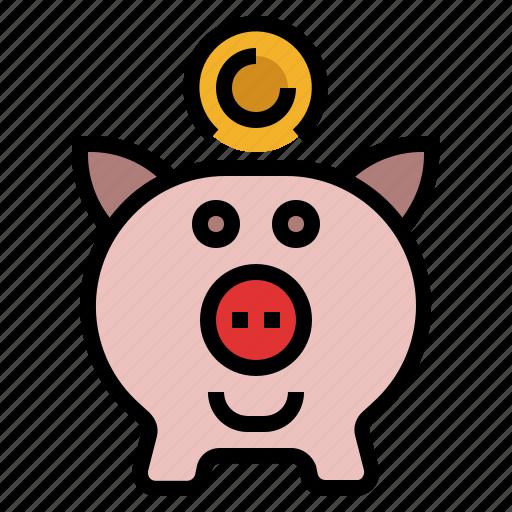 banking, finance, money, saving, saving account icon
