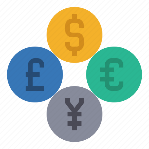 coin, currency, exchange, finance, foreign, money, payment icon