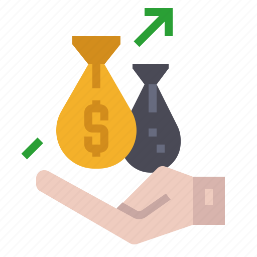 bangking, business, finance, fund, growth, investment, money icon