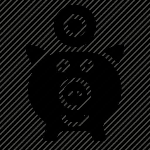 cash, financial, money, saving, saving account icon