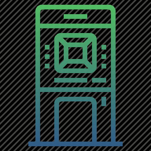 atm, automatic teller machine, banking, cash, financial, money icon