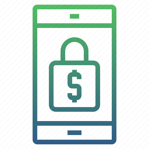 banking, login, mobile, mobile banking, mobile secure, smartphone icon