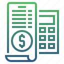 bank, banking, calculate, finance, money, payment, tax icon