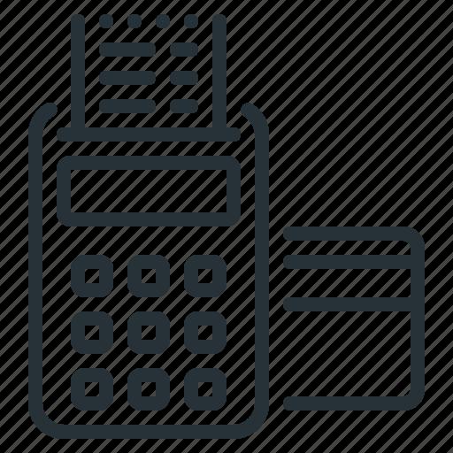 card, checkout, credit, order, order checkout, stripe, terminal icon