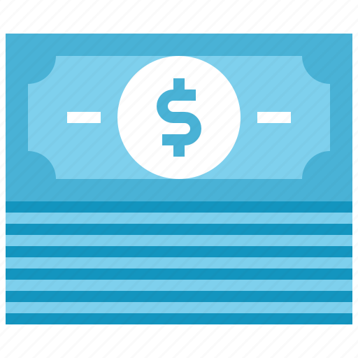 bill, cash, commerce, currency, dollar, finance, money icon