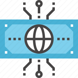 cash, currency, digital, ecommerce, electronic, finance, money icon