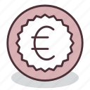 business, cash, currency, euro, finance, money, payment icon