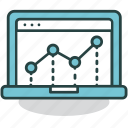 data, graph, information, internet, online, report, statistics icon