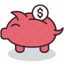bank, business, cash, finance, money, piggy, savings