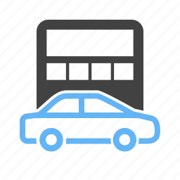 amount, calculation, calculator, car, finance, monetary, vehicle icon