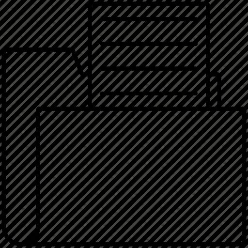directory, document, files, folder icon