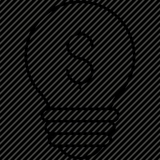 creative, idea, innovation, light icon