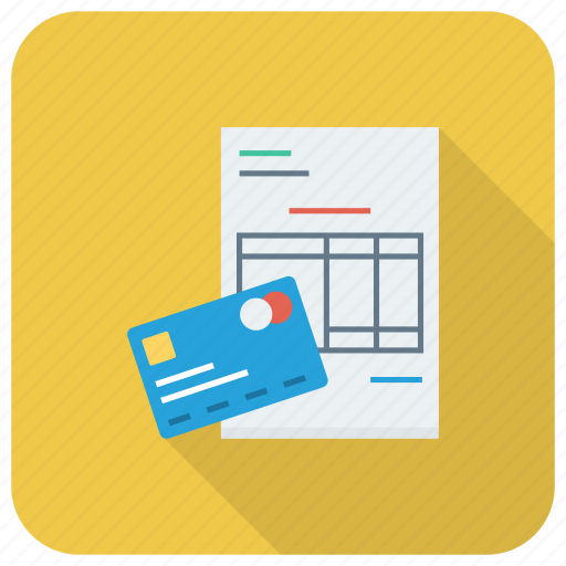 Bill, credit, money, payment icon - Download on Iconfinder