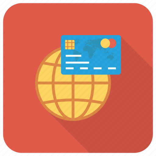 Cardsglobalwhite, credit, globe, money, payment icon - Download on Iconfinder