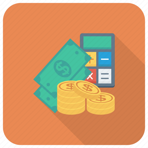 Calculator, cash, currency, dollar, finance, money icon - Download on Iconfinder