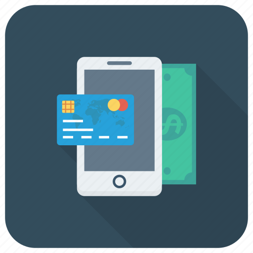Cash, credit, money, payment, phone, smartphone icon - Download on Iconfinder