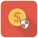 finance, lock, money, protection, secure, security icon