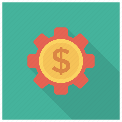gear, money, options, settings icon