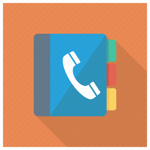 addressbook, contact, directory, phonebook, phonedirectory, smartphone, yellowpages icon