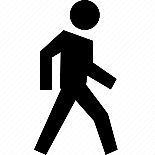 direction, person, run, street, trecking, view, walk icon