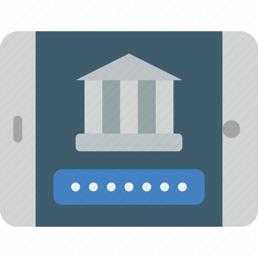 banking, finance, mobile, money icon
