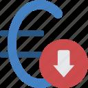 banking, euro, finance, money, rate