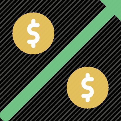 banking, finance, money, profit icon