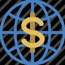 banking, global, finance, money