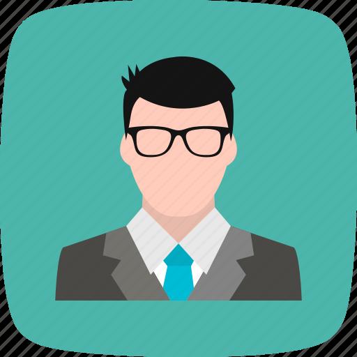 banker, businessman, financier icon