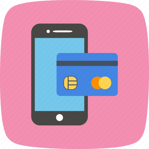 banking, mobile, transaction icon