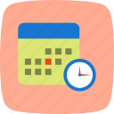 calendar, deadline, meeting icon
