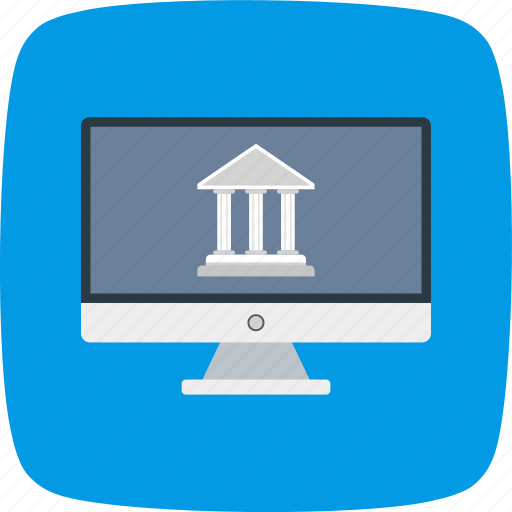 bank, banker, banking, internet, online icon