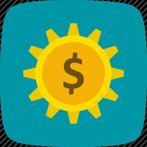 banking, cog, options, settings, wheel icon