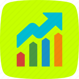 graph, growth, profit icon