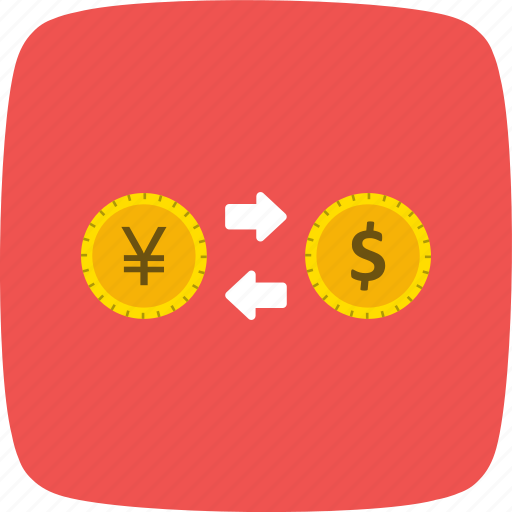 banking, currency, exchange rate, foreign exchange, money icon
