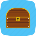 chest, coin, reward, treasure icon