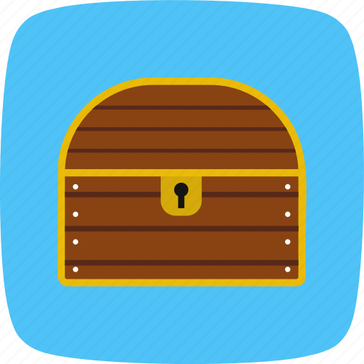 banking, chest, gold, reward, treasure icon