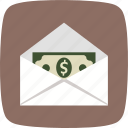 money envelope, money order, sending icon