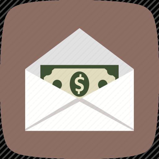 banking, money envelope, money order, send, sending icon