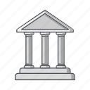 bank, banking, building, finance, inverstment icon