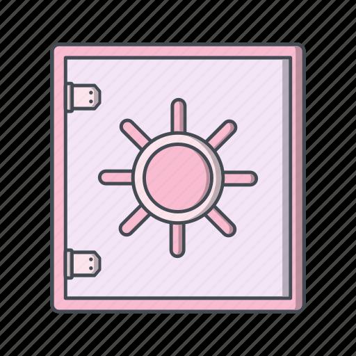 banking, locker, safe, security, vault icon