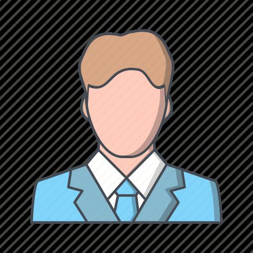 broker, businessman, economist icon