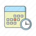 calendar, deadline, meeting, schedule icon