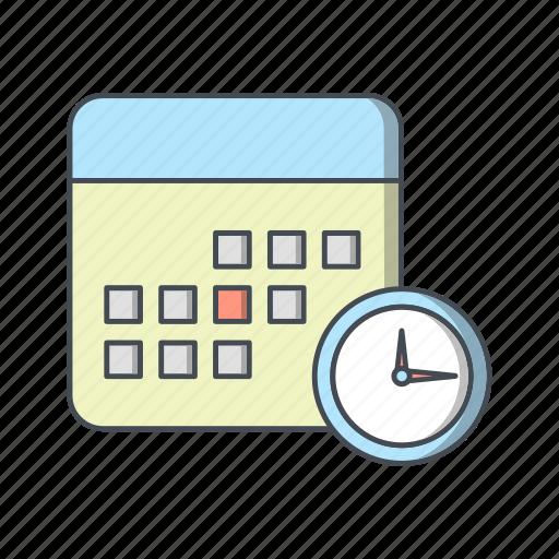 calendar, deadline, meeting, schedule icon