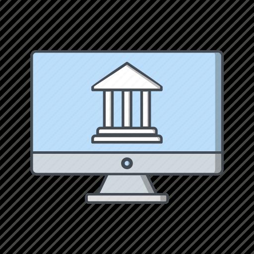 bank, banking, finance, internet, online icon