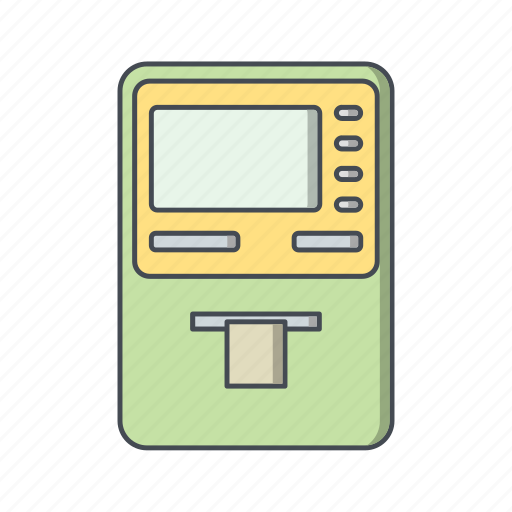 atm, banking, cash withdraw, cashout, transaction icon